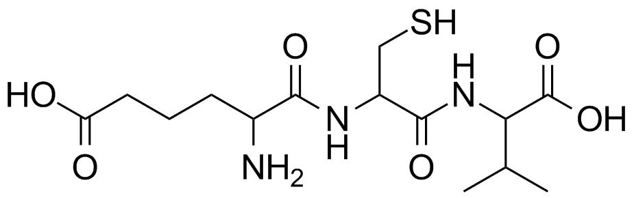 L-delta-(alpha-aminoadipoyl)-L-cysteinyl-D-valine structure