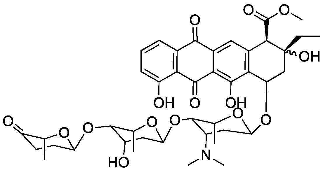 aclacinomycin structure