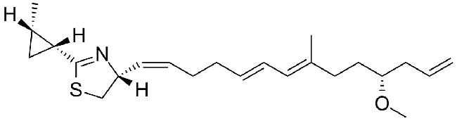 curacin structure