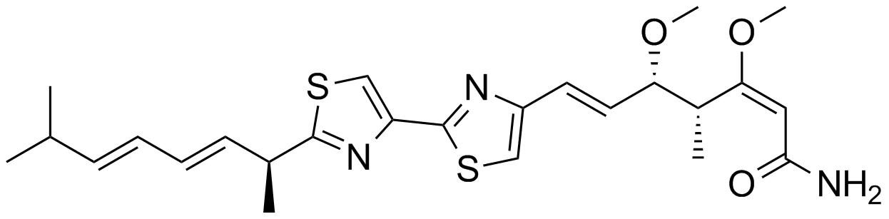myxothiazol structure