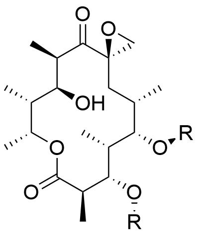 oleandomycin structure
