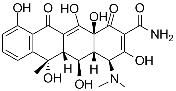 oxytetracycline structure