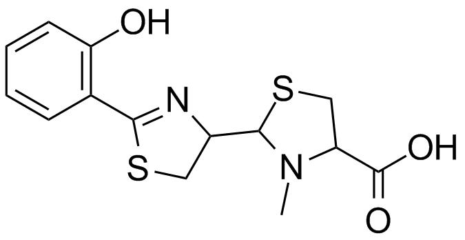 pyochelin structure