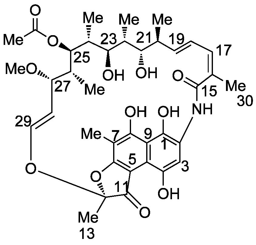 rifamycin structure