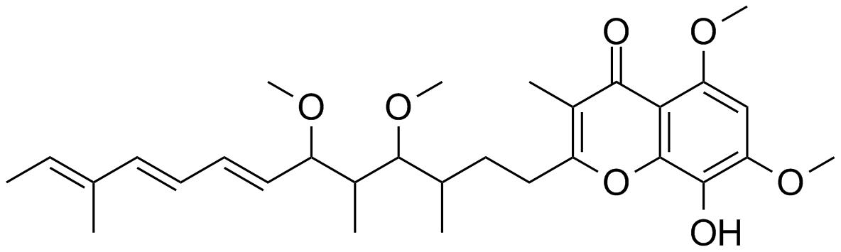 stigmatellin structure